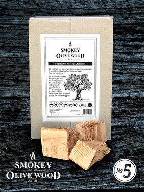 Smokey Olive wood olijf chunks 5 cm-15 cm 2kg