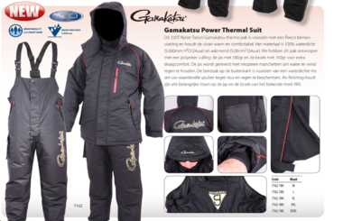 SPRO - gamakatsu power thermal suit 7162