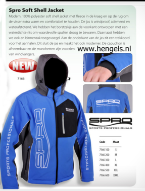 SPRO - Spro softshell jacked 7166