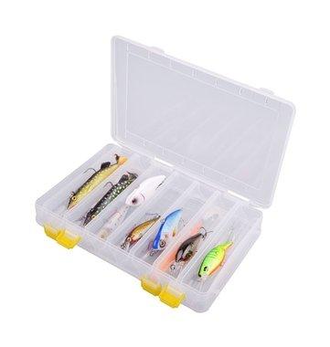 spro - hardbaitbox transparant  Large 27x17,5.x4,5cm 6515-1800,