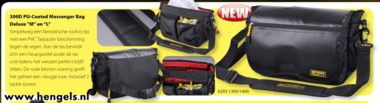 spro - messenger bag deluxe L 300-d pu coated 6203 1400,