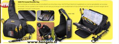Spro - Shoulder bag 300-d pu coated 25x11x27cm  6203 1500