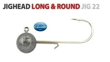 spro -round jighead haak 5/0 18 gram shad 9-11 cm, 4931 500 018