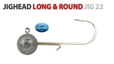 spro -round jighead haak 3/0 18gram shad 7.5-9.5 cm, 4931 300 018
