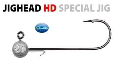 Spro -round jighead HD haak 12/0 20gram 15-18 cm