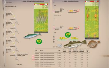 spro - Makreel paternoster 5 haaks garnalen  4745-080