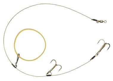spro - dead bait elastic band rig 42 cm 13,6 kg treble 4 4623 1400 100
