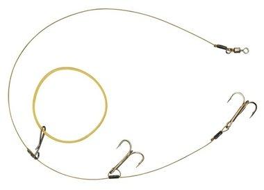 spro - dead bait elastic band rig 40 cm 13kg treble 2 4623 1400 200