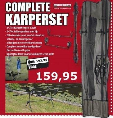 complete karperset 360cm