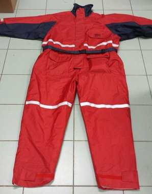 Shakespeare floatation suit  rood L
