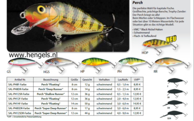 salmo -kunstaas  Perch 12cm Shallow runner