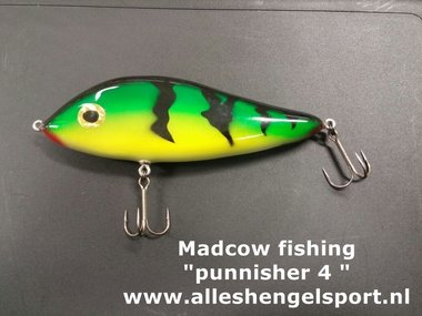 MADCOW FISHING KUNSTAAS PUNNISHER 4