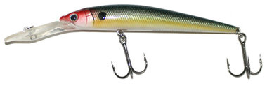 reaction strike -kunstaas DM-110 Deep minnow 110 Ghost natural shad