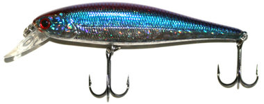 reaction strike -kunstaas xrm-100 xtreme rip minnow 100 blue back herring