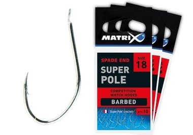 Matrix -super pole hook size 18 ghk015