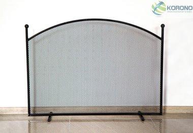 Korono haardscherm rond 100x72x15cm