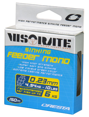 Cresta Visorate Sinking feeder mono (0.18/0.20/0.23/0.25/0.28/0.30 mm)