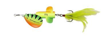 DAM Effzett Rattlin'Spinner Size 5/ 11 cm/ 18g fluo geel/groen