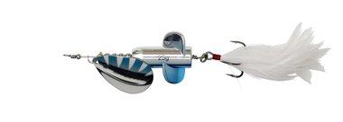 DAM Effzett Rattlin'Spinner Size 5/ 11cm/ 18g zilver/blauw