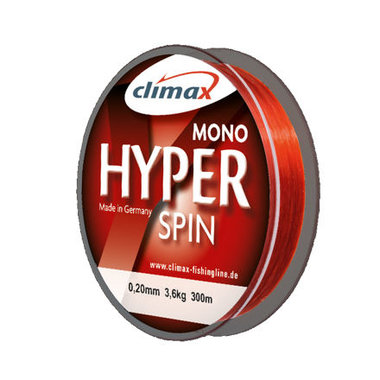 Climax mono hyper spin red