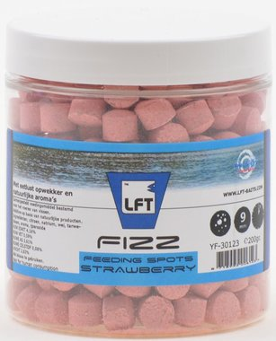 LFT Fizz feeding spots 9mm/200gr Strawberry