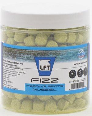 LFT Fizz feeding spots 9mm/200gr Mussel