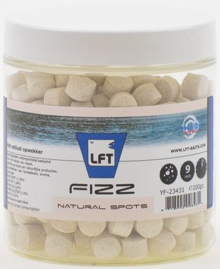 LFT Fizz feedig spots 9mm/200gr Natural