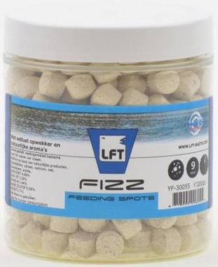 LFT Fizz feeding spots 9mm/200gr Vanille