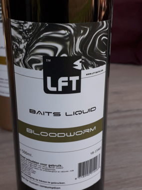 LFT Baits Liquid 500ML Bloodworm