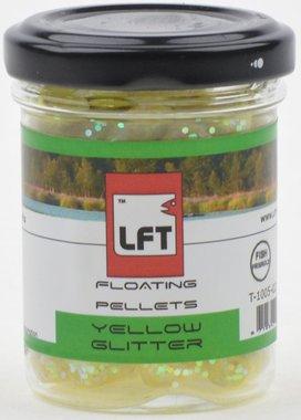 LFT Trout Floating Pellets Yellow glitter 55gr