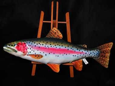 Gaby - Visknuffel Regenboog forel 62 cm