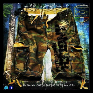 Hotspot design - Short carpfishing M/L/XL/XXL