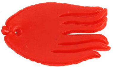 LFT Deadbait Fish Fin 10pcs (Red)