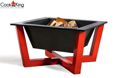 Cookking Fire Bowl/vuurschaal Brasil Red 70x70 cm