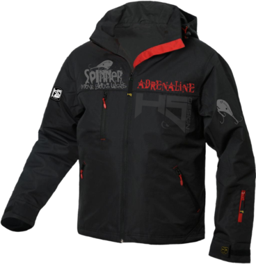 Hotspot design - Jacket black Spinner adrenaline
