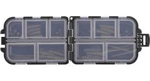 C-TEC Terminal Tackle Box met inhoud 100x65x25 mm