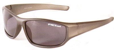 Falcon Polarized Sunglass Carlo - Matt Grey Frame / Grey Lens