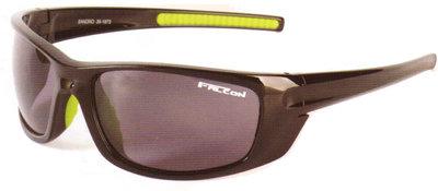 Falcon Polarized Sunglass Sandro - Black Frame / Grey Lens
