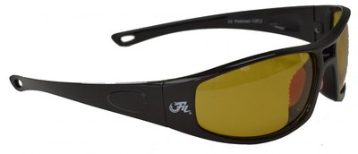 Fil Polarized Sunglass Mario Black Frame/Yellow Lens