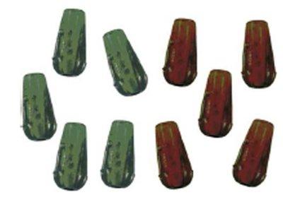LFT Knot Protectors 10pcs. Mix Brown & Olive