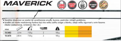 Fil-fishing Maverick Spin 265 7-35gr