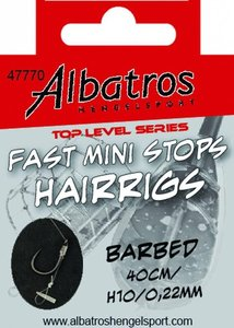 Albatros Toplevel Fast Mini Stops Barbed 40cm H14/0,18mm