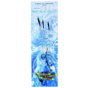 Deep Blue Flat Out 3-Haaks 10gr H4