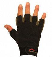 sundridge - sundridge laminated fleece fingerless handschoen