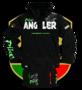 "Hotspot design - Jacket black ""pikefishing"""